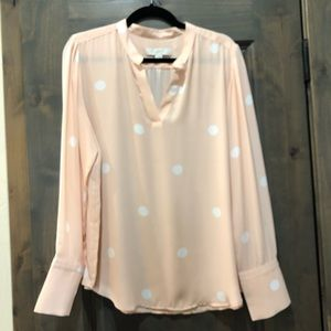 LOFT peach blouse